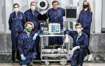 Κορωνοϊός: Η NASA κατασκεύασε μηχανικό αναπνευστήρα για τους ασθενείς με Covid-19.