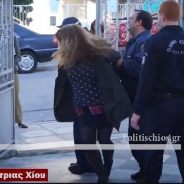 Συνέλαβαν γυναίκα που επιχείρησε να μπει σε εκκλησία στη Χίο! (vid)