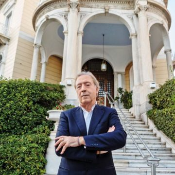 Κορυφαίο διεθνές βραβείο στον διευθυντή του Μουσείου Κυκλαδικής Τέχνης Νίκο Σταμπολίδη
