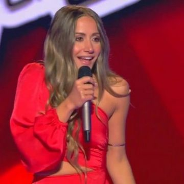 The Voice: Ρουβάς και Μουζουράκης την έκαναν να ξεχάσει το όνομα της