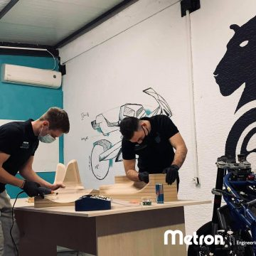 H Metron στηρίζει ως Platinum Χορηγός την ομάδα του Αριστοτελείου Πανεπιστημίου, Panther Racing Auth.